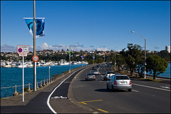 Tamaki Drive and Hobson Bay
