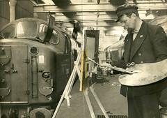 My dear Dad, Albert. Retired Gateshead (52A) driver.