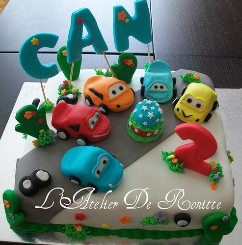 Arabalı 2 Yaş Doğumgünü Pastası by l'atelier de ronitte