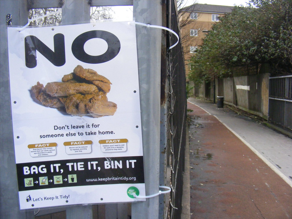 No to Doggie doos E9. - Bag it , tie it, bin it. Some hope here though.