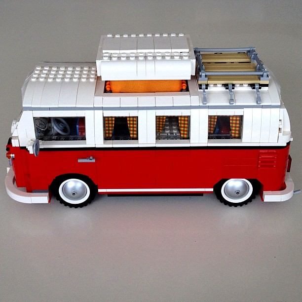 Completed Lego Volkswagen T1 Camper Van Flickr Photo