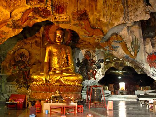 IMG_0041 Buddha statue ,霹雳洞,Perak Cave