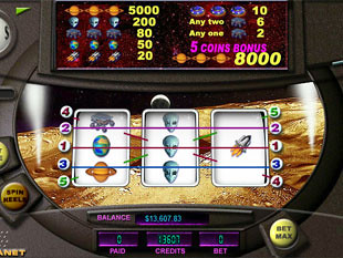 Red Planet slot game online review