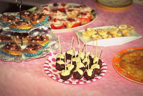 cupcakes, bolas...