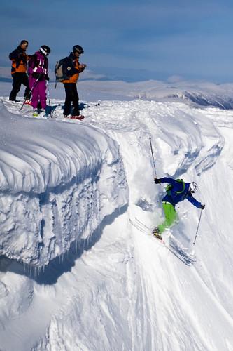Skiing in Nevis Range