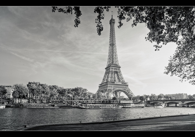 Classic Lady of Paris por Julien Fromentin