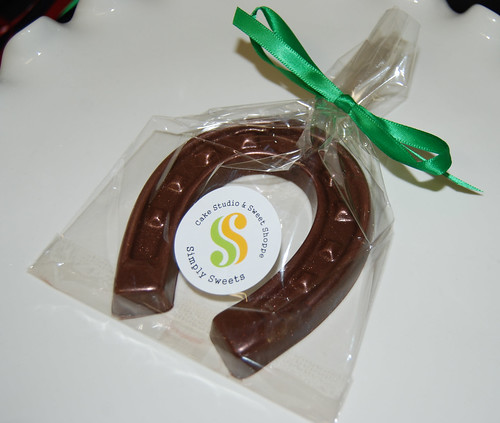 good luck chocolate horseshoe