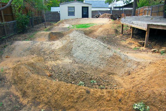 Backyard Pump Track Designs : Backyard Pump Track facing west (after)  Flickr  Photo Sharing!