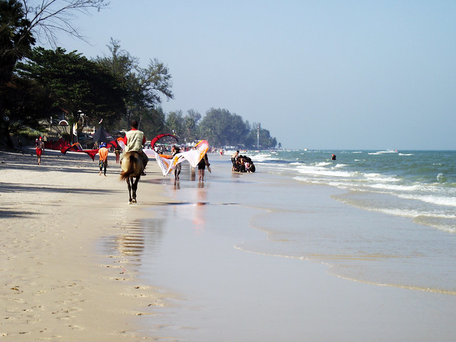 Fun on Hua Hin Beach