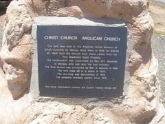 Dublin Christ Church plaque