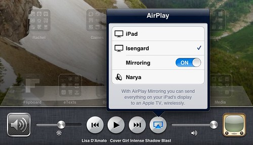 Setup iPad mirroring with AppleTV
