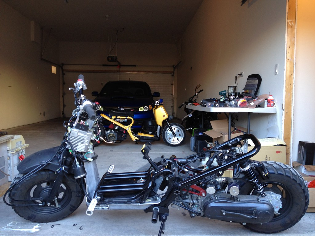parts lined up for installation: Big thanks to Minkus @ Standard Functions  for their christmas sale. I was able to pick up an ATR harness, stage6  throttle, ...