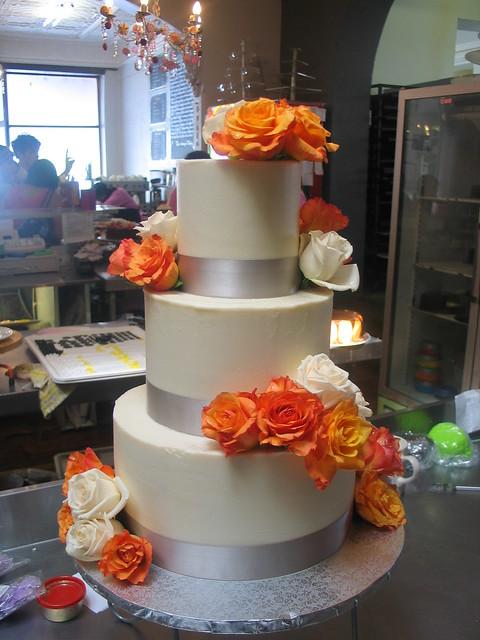 Orange Ganache For A Cake