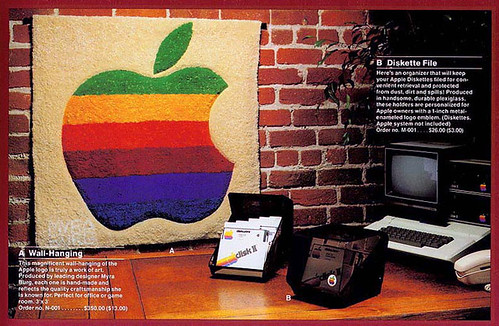 Apple 1983 Wall Hanging
