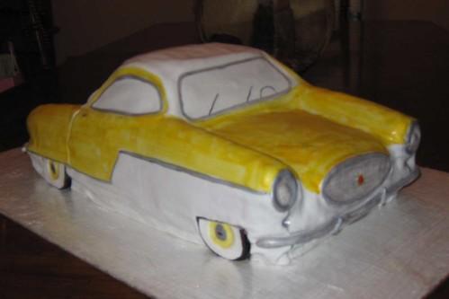 Metro Birthday Cake