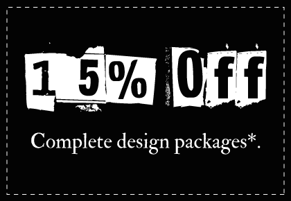 15% Off Design Packages from Parajunkee Design
