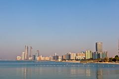 Abu Dhabi 2011 - Corniche Towers and Private Beach