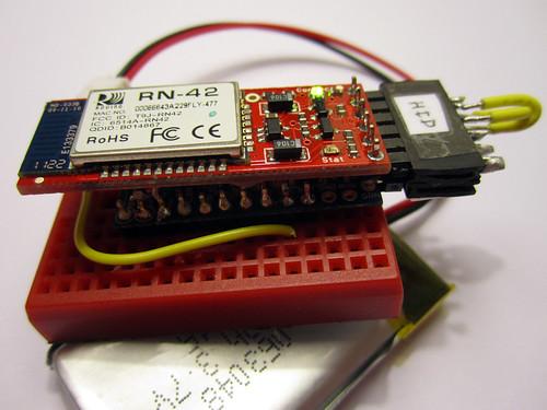 Bluetooth SMD Module - RN-42 - Karlsson Robotics
