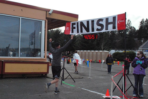 First marathon finish by Southworth Sailor