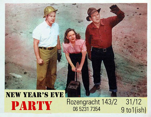 2011-2012 NYE party flyer by blacque_jacques