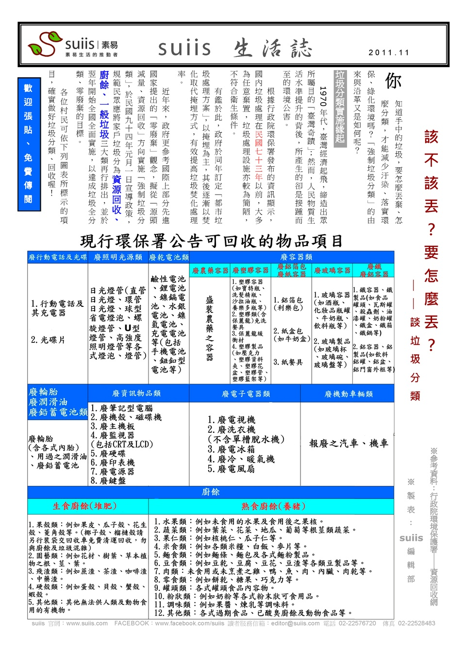 suiis 生活誌-2011-11_Page_1
