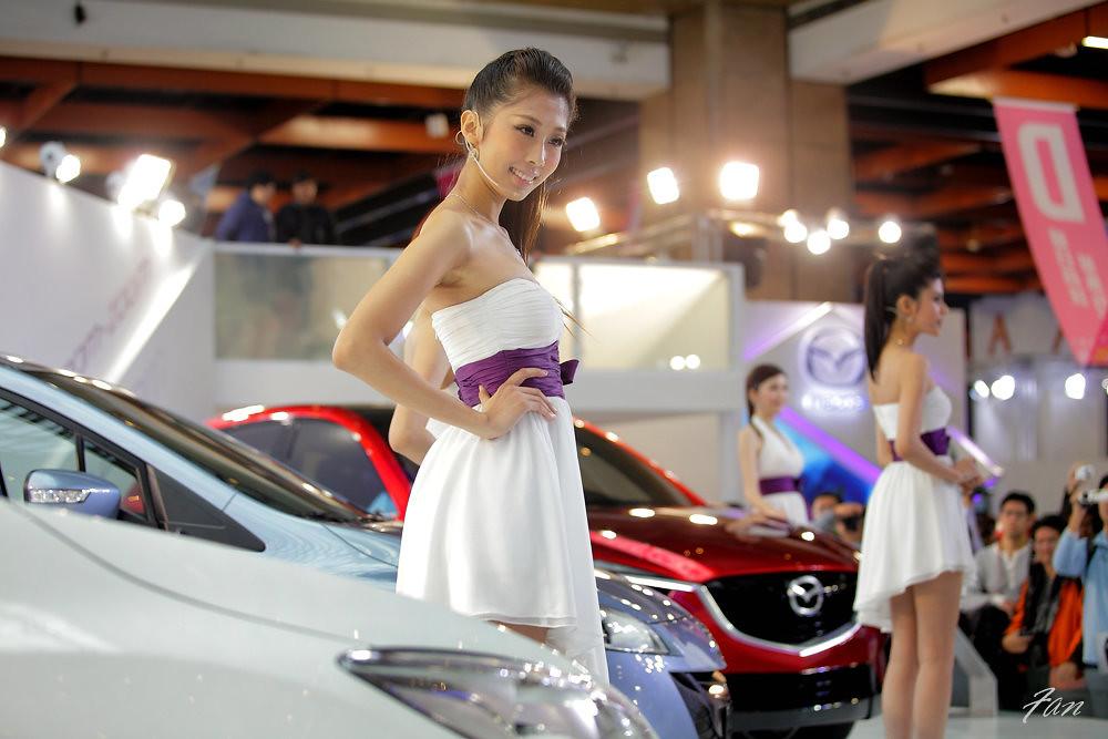 拍出現場感  2012車模篇