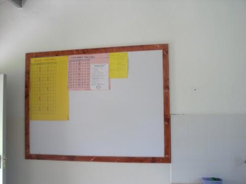 Staff room Notice Board