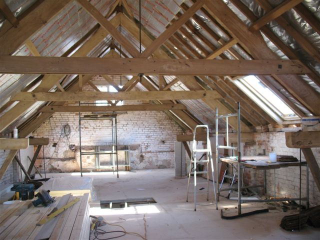 <p>Barn conversion and conversion of piggery.</p>