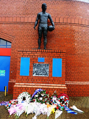 Memorial to Crowd Disaster Victims, Ibrox Stadium