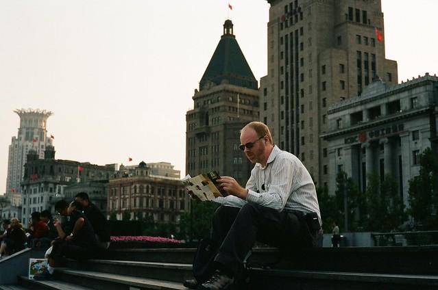 上海外灘隨拍 (Kodak Portra 400)