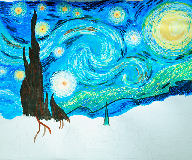 Starry Night (16 May 2011)
