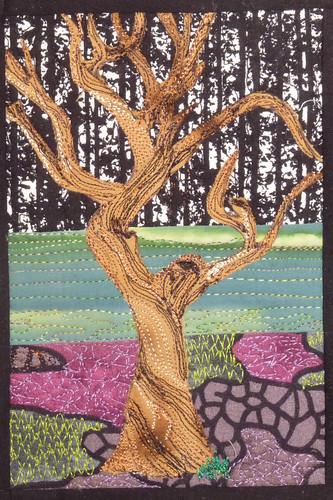 plum tree quilt, #2