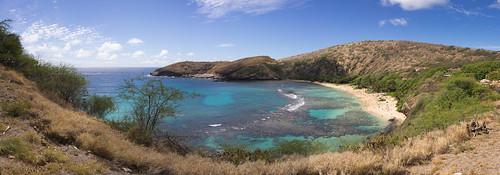 Hanauma Bay, O'ahu, Hawai'i (panorama)