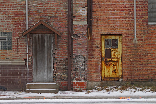 Two old doors