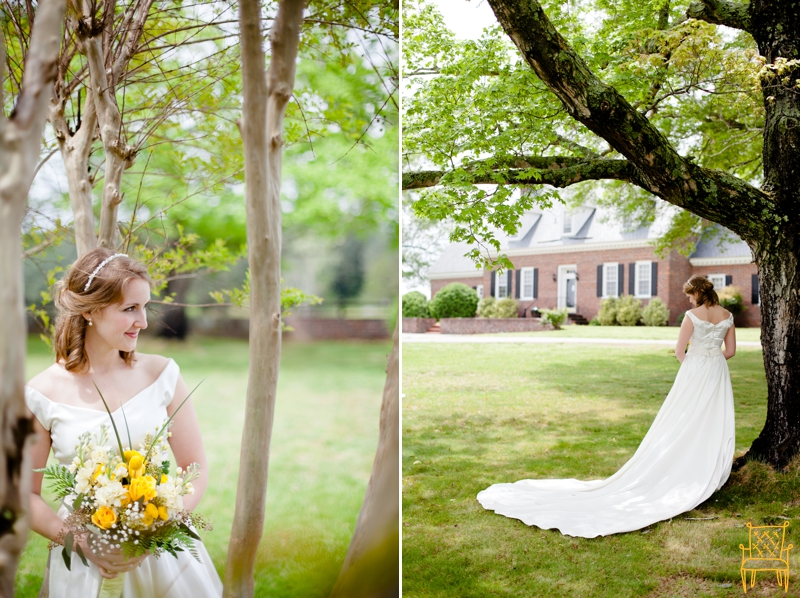 gray and yellow outdoor vintage wedding_027