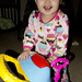 12-28-11: Norah Being Silly