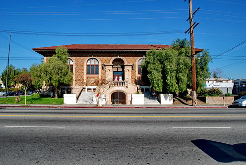 Cahuenga Branch Library, Clarence H. Russell, Architect 1916 by Michael Locke