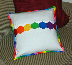 Rainbow Dash Pillow Back