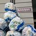 Abfallverwertung vor dem Schweizerhof