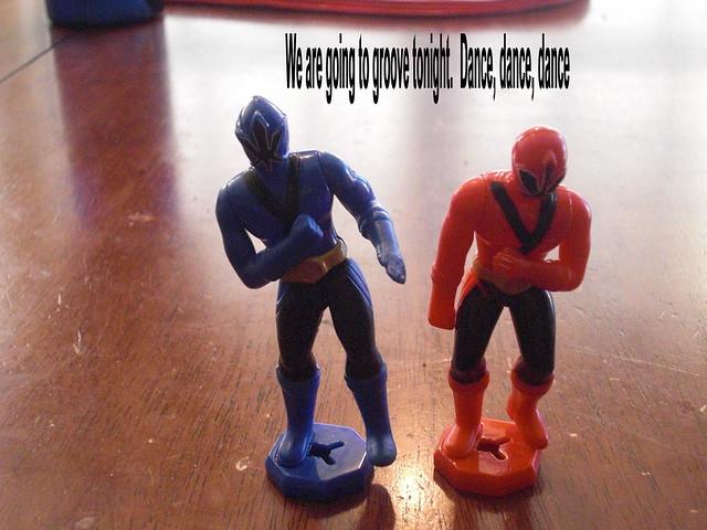 Dancing Power Rangers