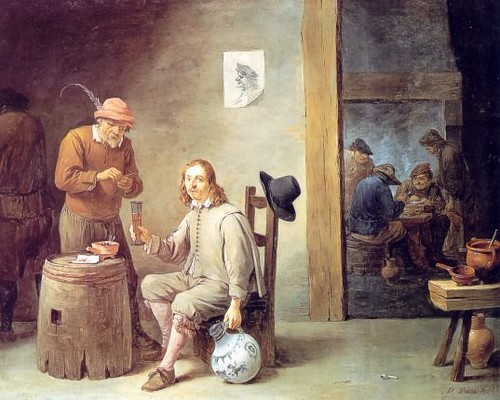 Teniers-self-portrait-at-inn-1646