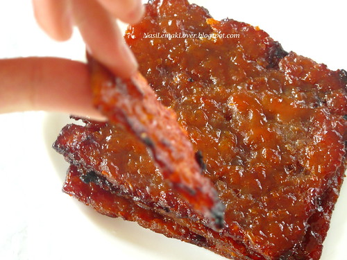 Homemade Chinese Pork Jery (Bak Kwa) 肉干