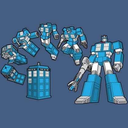Mush-up de Doctor Who Transformers