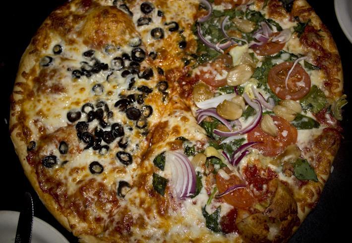 """""""Stellar"""" Pizza."""