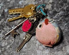art, red, keychain, pink, organ,