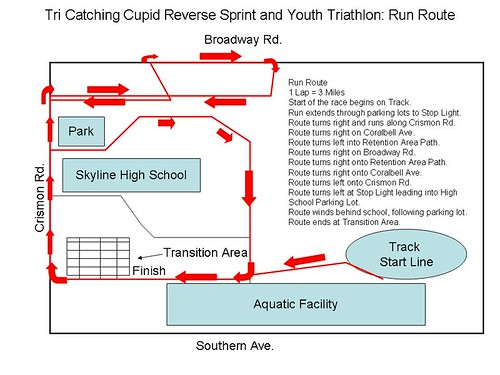 run course map