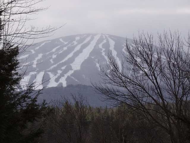 Stratton Mountain from Winhall Hollow Road