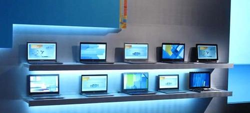 Intel Ultrabook prasčiausias pasirodymas CES 2012
