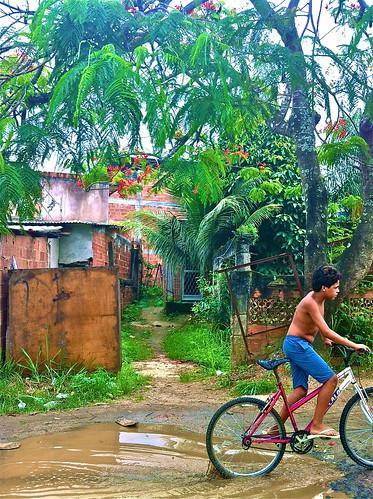 Riding a Favela