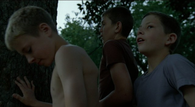 tree of life, malick, playing, boys, kids